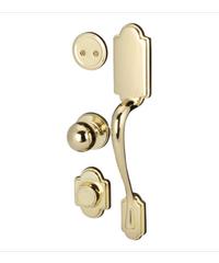 HAFELE มือจับประตูทางเข้า  PVD มือจับหลอก 489.94.829 ทองเหลือง