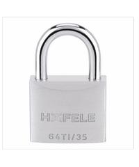 HAFELE กุญแจล็อคสายยู ไททาเลี่ยม ขนาด 35มม. 482.01.823 สแตนเลส