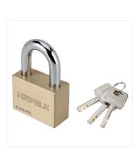 HAFELE  กุญแจล็อคสายยู ขนาด 45 มม.  482.01.982 ทองเหลือง