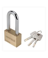 HAFELE  กุญแจล็อคสายยู สายยาว ขนาด 45 มม. 482.01.983 ทองเหลือง