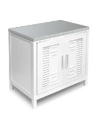 ADVANCE ตู้ซิงค์ หน้าเรียบ C1T5080 สีขาว