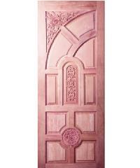 BEST ประตูไม้สยาแแดง 70x200cm.BEST GC-01