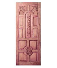 BEST ประตูไม้สยาแดง ขนาด 80x180 GC-75