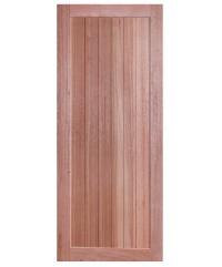 BEST ประตูไม้สยาแดง ขนาด80x200 cm. GS-56