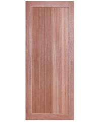 BEST ประตูไม้สยาแดง ขนาด100x200 cm. GS-56