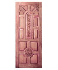 BEST ประตูไม้สน  ขนาด 90x200 cm. GC-75