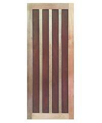 BEST ประตูไม้สน  80x200 cm. GS-39