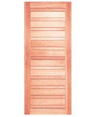 BEST ประตูไม้สน  ขนาด90x200 cm. GS-53