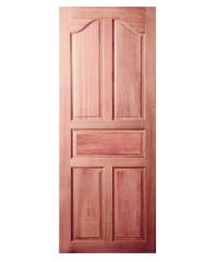 BEST ประตูไม้สยาแดง ขนาด 100x184 cm. GS-30