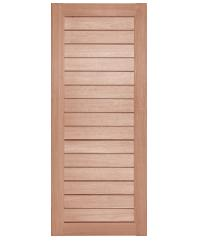 BEST ประตูไม้สยาแดง ขนาด120x100 cm. GS-52 Plus