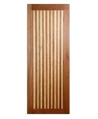 BEST ประตูไม้สยาแดง ขนาด100x200 cm. GL-01