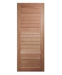BEST ประตูไม้สน  80x204 cm. GS-21