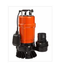 SUMOTO POMPA ปั๊มจุ่มน้ำเสีย 500W.พร้อมลูกลอย DIRT500F ส้ม-ดำ