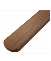 ไม้รั้วเต็งหัวมน  ไม้รั้วเต็งหัวมน Grade Natural หน้า 4 1.5เมตร แดงน้ำตาล