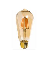 HI-TEK หลอด LED Vintage Series ู6W  E27 ทรงวินเทจ HLLS64006G ขาว-ส้ม