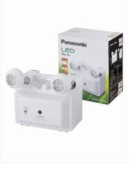 PANASONIC ไฟฉุกเฉิน แอลอีดี 6วัตต์ x 2  LDR400N ขาว