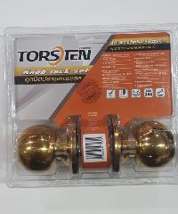 TORSTEN ลูกบิดประตูสเตนเลส 304 จาน65มม.  KLSS-65PB สีทอง