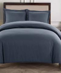 Truffle ชุดผ้าปูที่นอน 6ฟุต 5ชิ้น พร้อมปลอกผ้านวม  BD-64-3 สีเทา