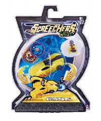 Screechers Wild ยานพาหนะของเล่น SparkBug EU683116 สีเหลือง