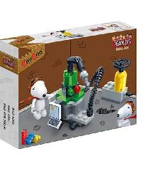 BANBAO ของเล่นบล็อกตัวต่อชุดเล็ก Machine 7525