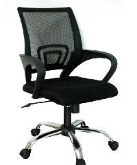 ULA  เก้าอี้สำนักงาน  Net/Fabric CH-220A-HS สีดำ