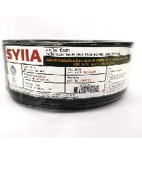 SYLLA สายไฟ 60227  IEC01 THW 1x2.5 Sq.mm.30m. สีดำ