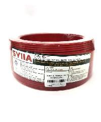 SYLLA สายไฟ 60227  IEC01 THW 1x2.5 Sq.mm.30m. สีแดง