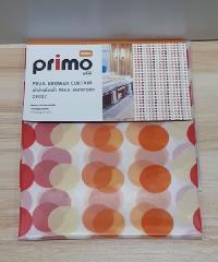 PRIMO ผ้าม่านห้องน้ำ PEVA ลายกราฟฟิก 180*180 ซม. DF027