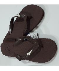 PRIMO รองเท้าแตะยางพารา เบอร์ 40-41  LR022 สีน้ำตาล