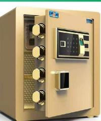 Haritage ตู้เซฟสแกนลายนิ้วมือ  38x33x45ซม. ST-522-G สีเบจ