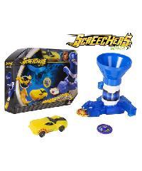 Sanook&Toys  ยานพาหนะ Screechers Wild - Rapid Fire  EU683153 สีน้ำเงิน