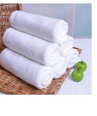 COZY ผ้าเช็ดตัวไมโครไฟเบอร์  100x150 ซม. MFT-100150W สีขาว