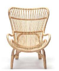 Tree O เก้าอี้หวายเทียม WRA1318  สีน้ำตาลอ่อน