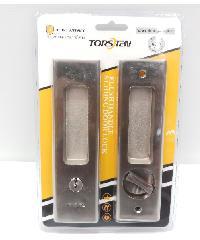 TORSTEN มือจับบานเลื่อนประตู 16x4.5x0.1ซม. สีเงิน PQS-JT85S1