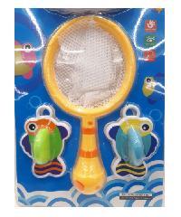 USUPSO ชุดของเล่นตกปลาการ์ตูน 666-4A สีเหลือง